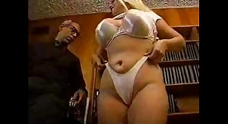 Lil' Nicky Tease takes two cocks and facials