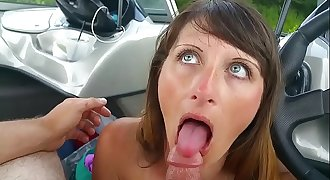 Busty Teacher Begging for Student's Cock in Public on a Boat during Field Trip P.O.V